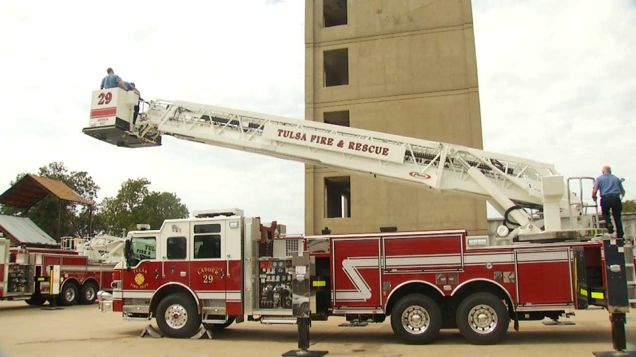 Tulsa Fire Department Spends Almost $5 Million For New Trucks