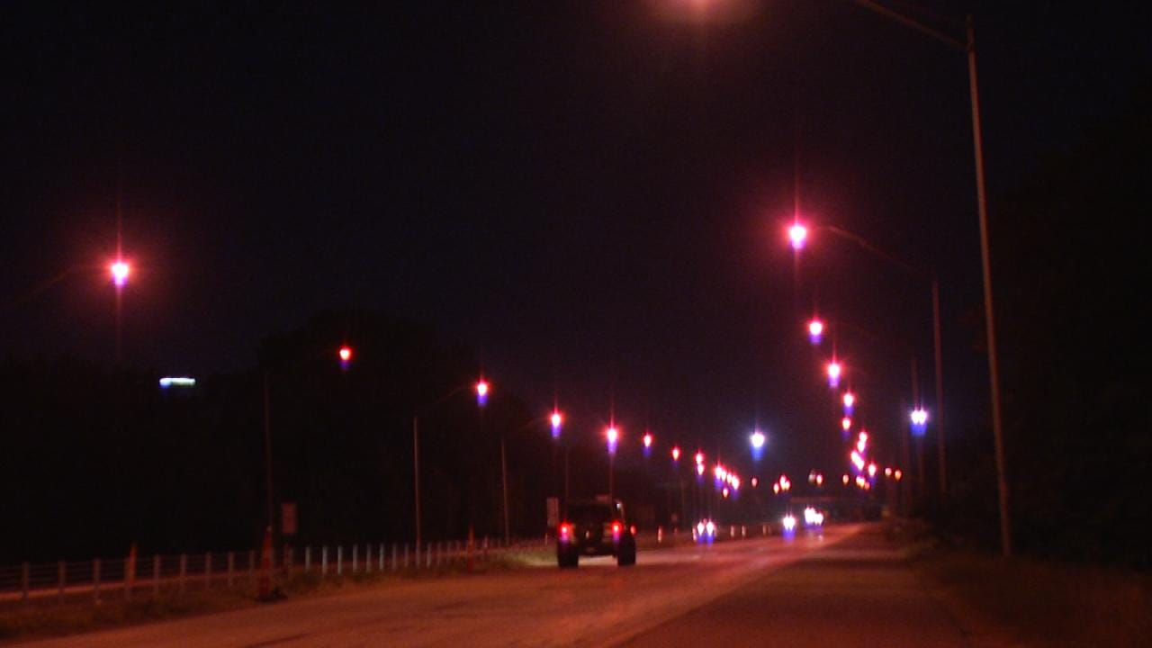 Tulsa Highway Street Lights Switched Back On