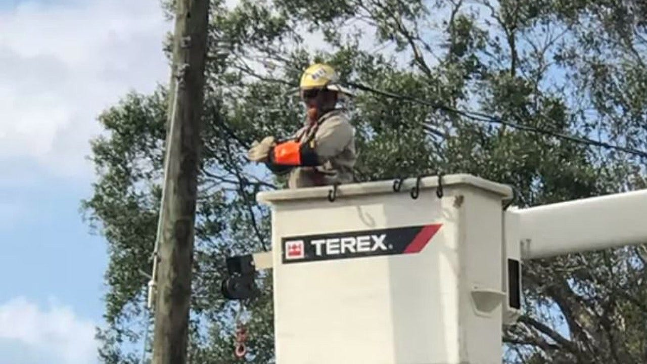 Edmond Utility Crew Helps Restore Power In Florida After Irma