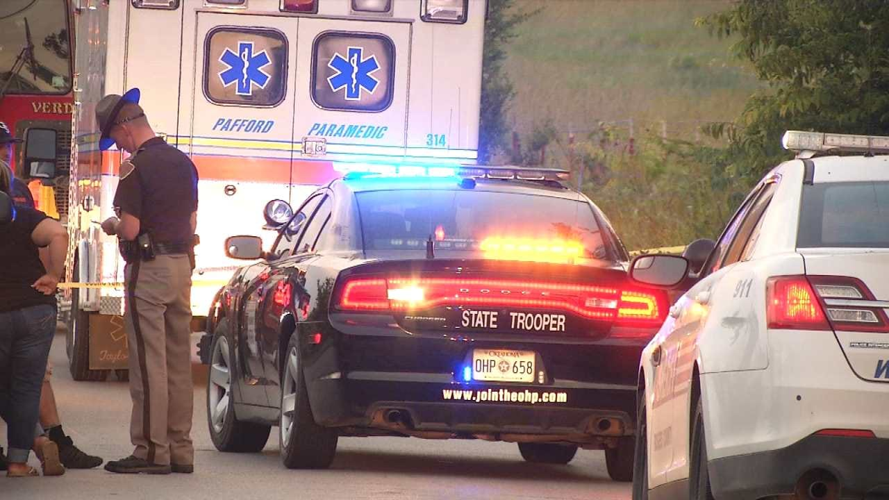 911 Call Obtained From Rogers County Hit-and-Run