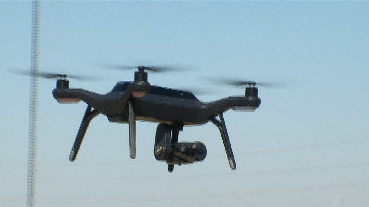 Claremore Man Donates Drone To Rogers County Sheriff