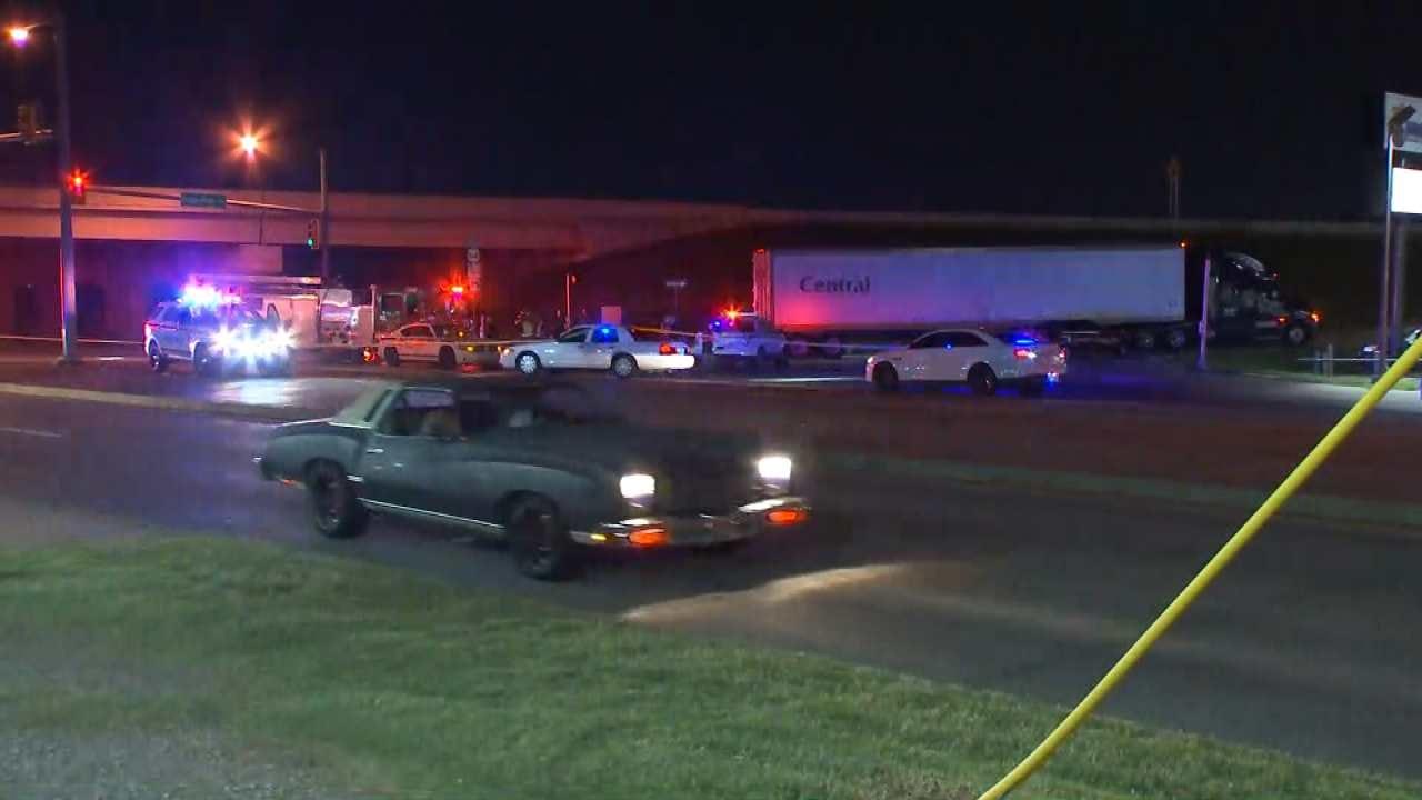 Motorcyclist Dies In Tulsa Crash Involving Semi