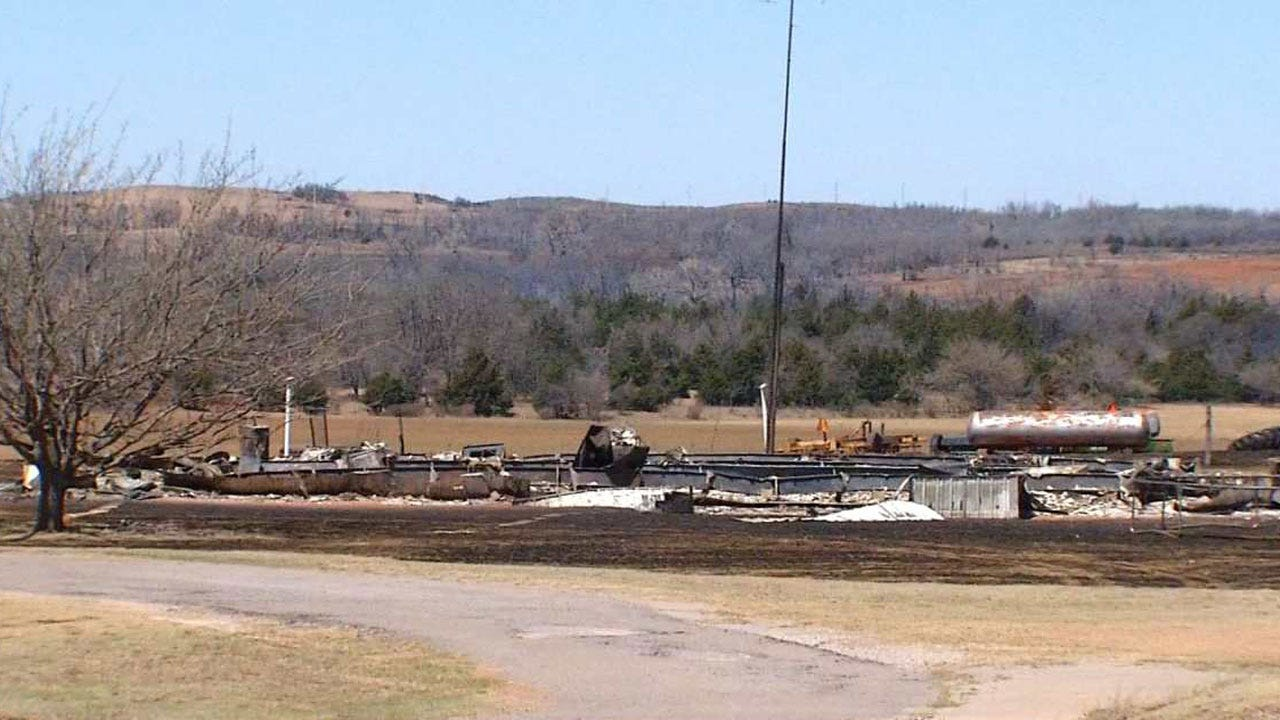 Oklahoma Wildfires Destroy Dozens Of Homes In Dewey County