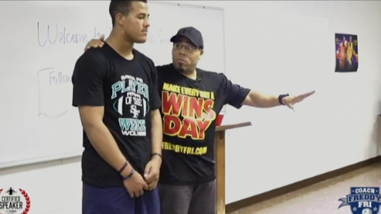 Tulsa Coach Inspiring Student Athletes To Make Every Day A 'Wins-Day'