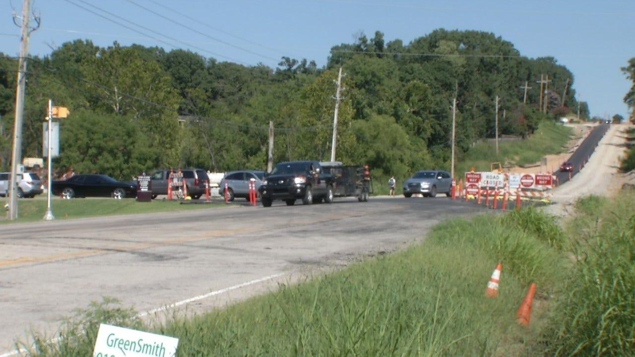 Construction Update On Tulsa's 101st Street Project