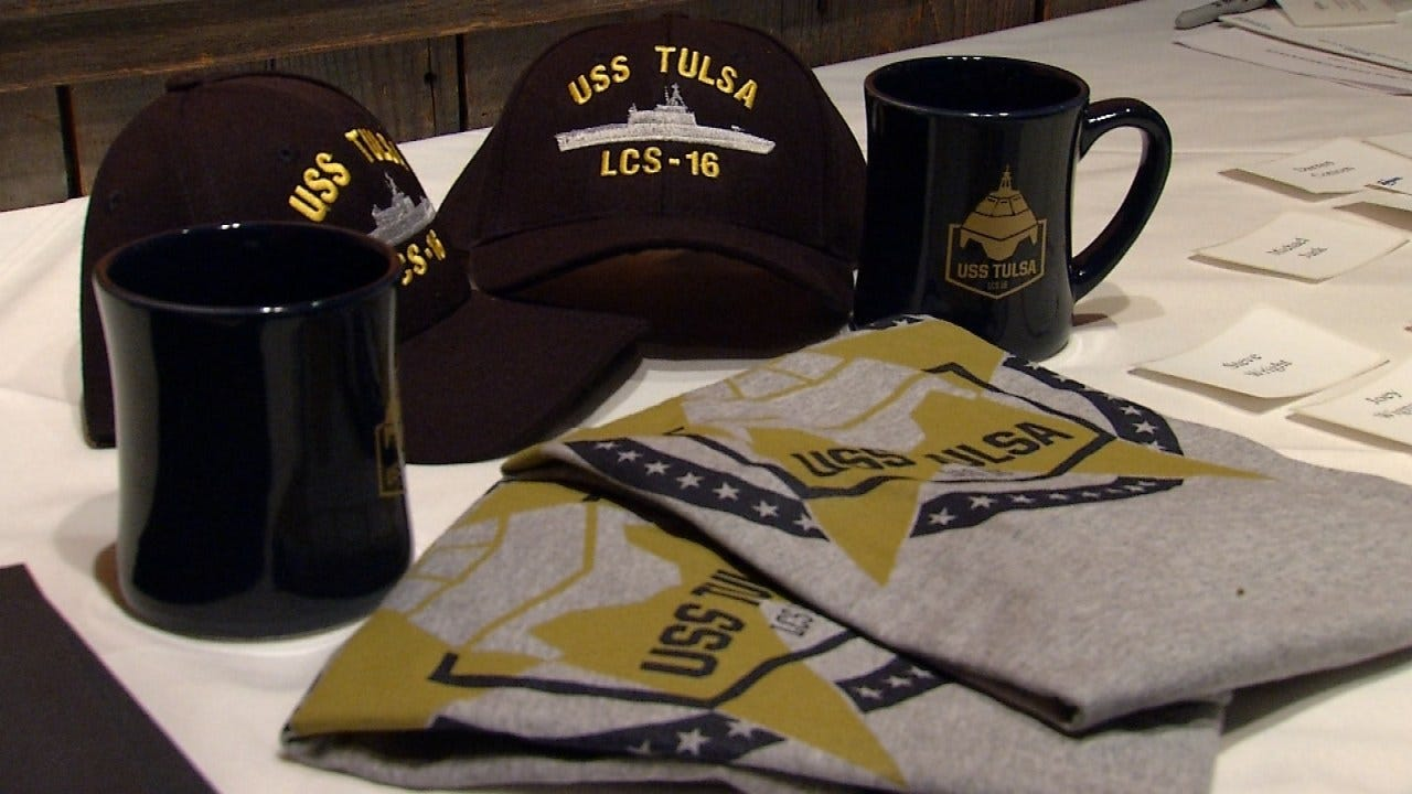 Tulsans Gather To Learn About The USS Tulsa