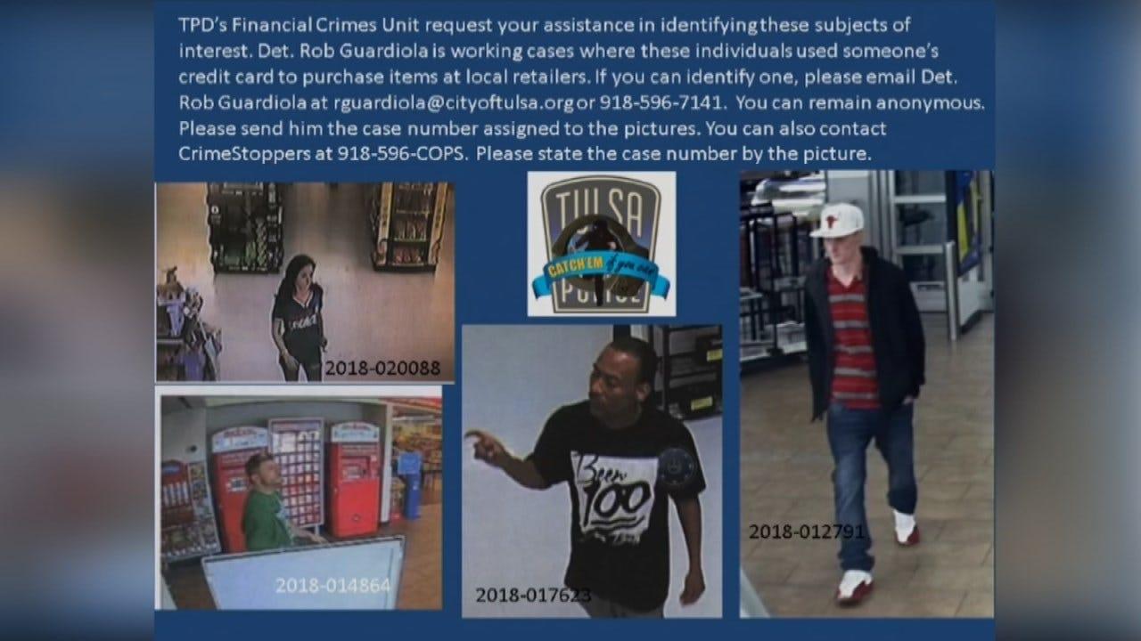 Tulsa Police Begin New Campaign To Catch White Collar Criminals