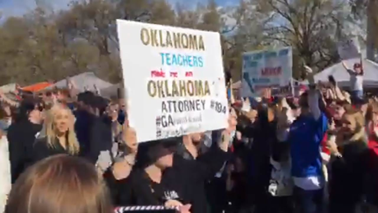 'Women In Black' Propose Solutions To Oklahoma Teacher Walkout