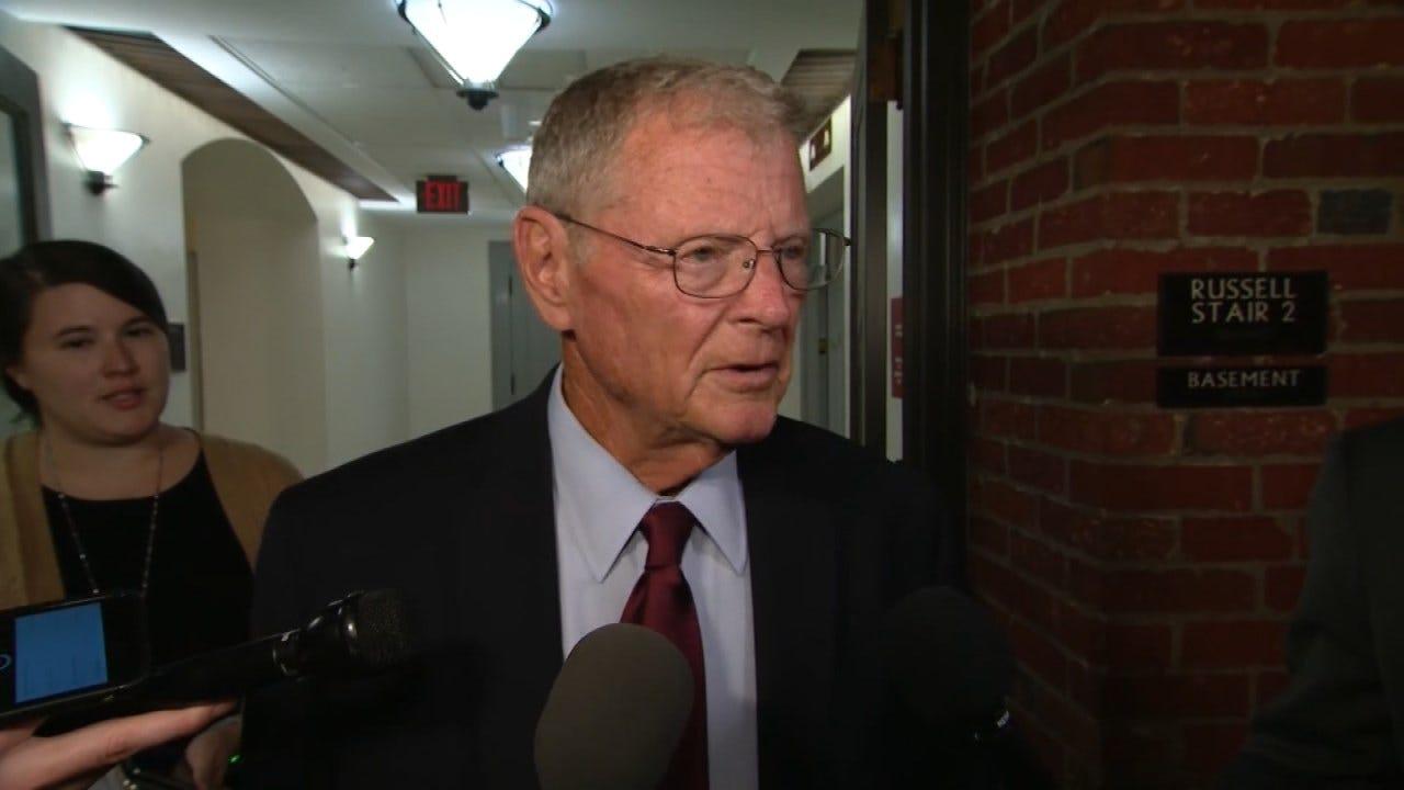 Senator Inhofe Faces Criticism After McCain Statement