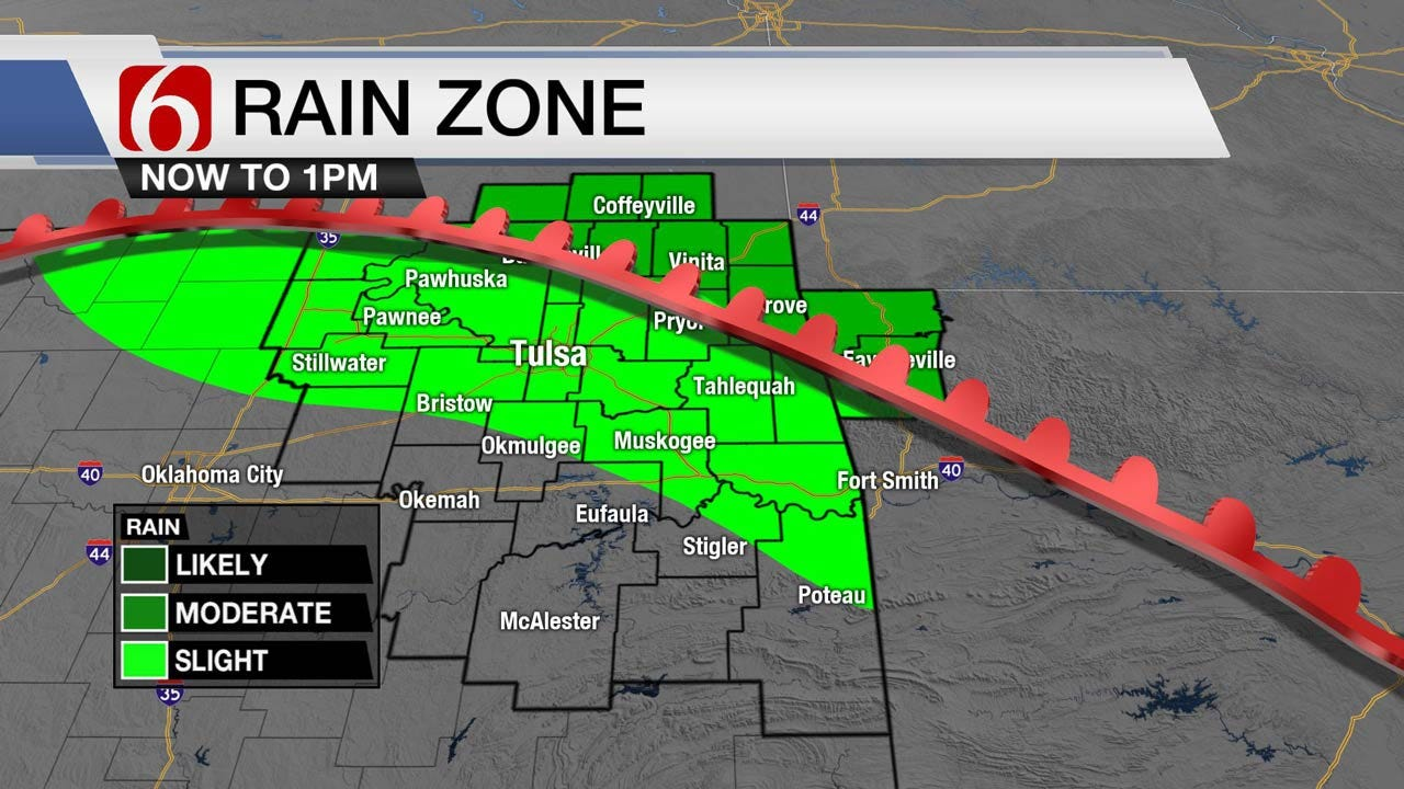 Storm Chances Again Thursday For Some In Northeast Oklahoma