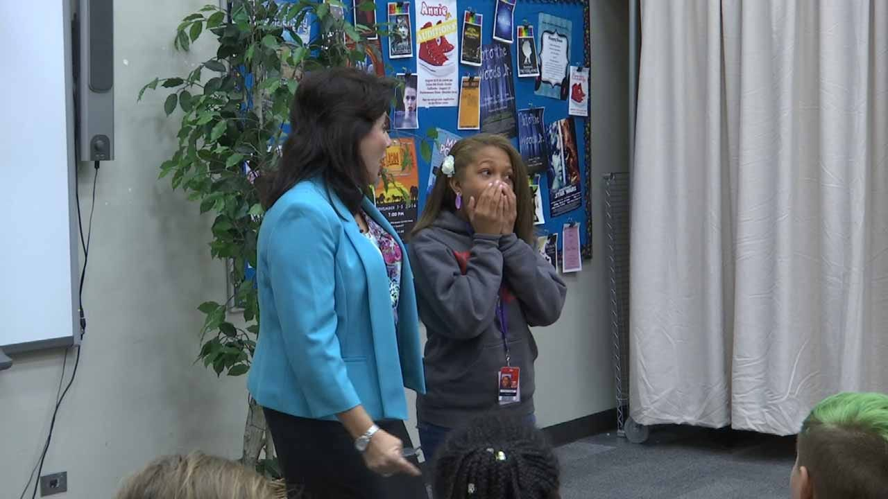 Tulsa Students Go Above And Beyond Gathering Place's 2M Book Challenge