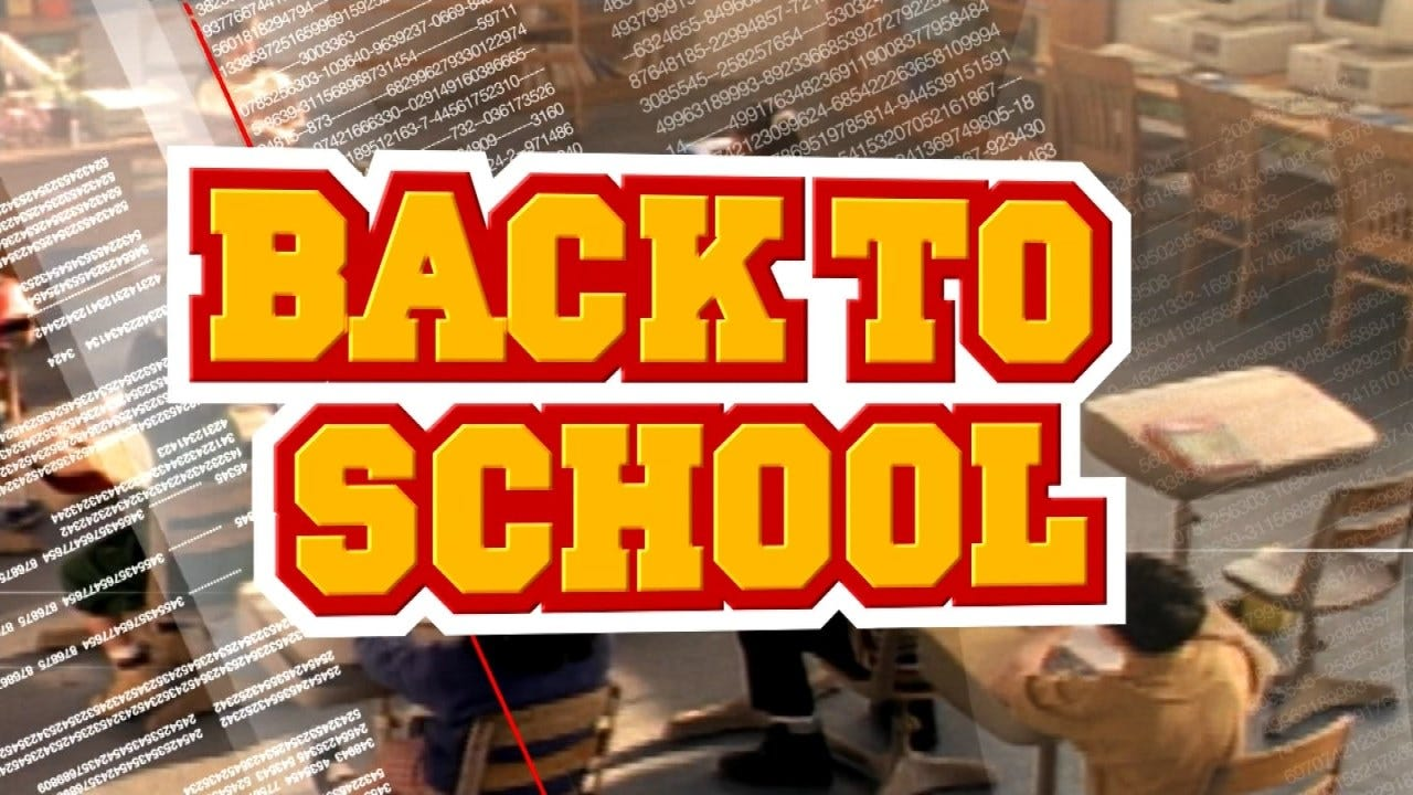 Back To School Today For Catoosa Public School Students