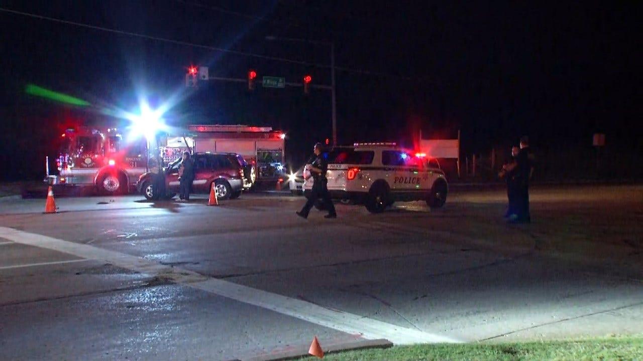 Police Say Bicyclist Found Shot On Tulsa's North Mingo Road Dies