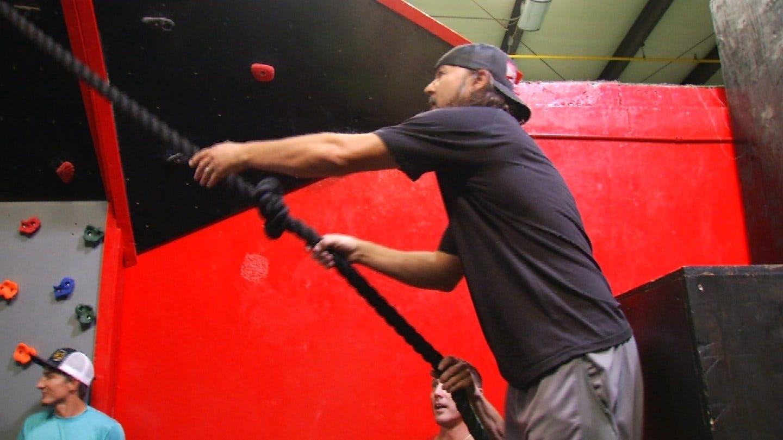 Professional Bull Riders Take A Shot At American Ninja Warrior