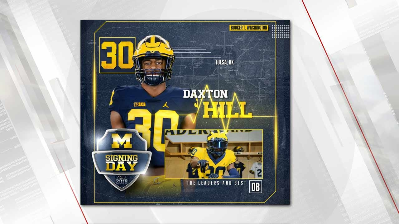 National Signing Day Surprise: Booker T's Dax Hill Flips Back To Michigan