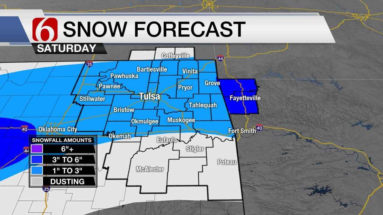 Stacia Knight Tracks Threat Of Oklahoma Winter Weather