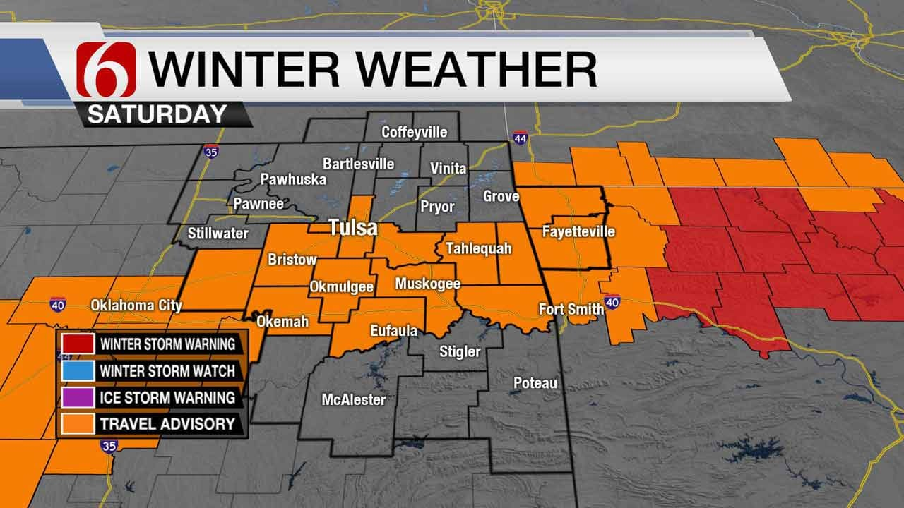 Stacia Knight: Winter Storm Watch Downgraded To Travel Advisory