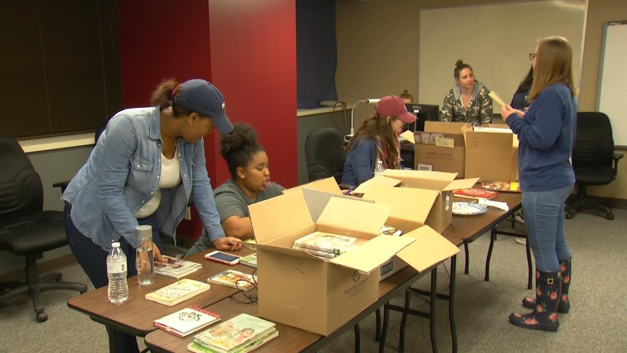 ORU Education Students Helping Victims Of Hurricane Harvey