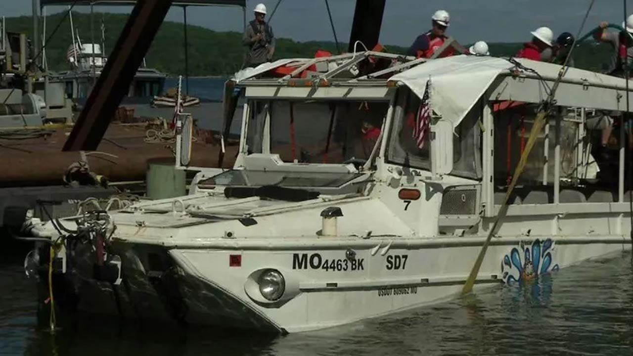 $100M Wrongful Death Lawsuit Filed In Branson Duck Boat