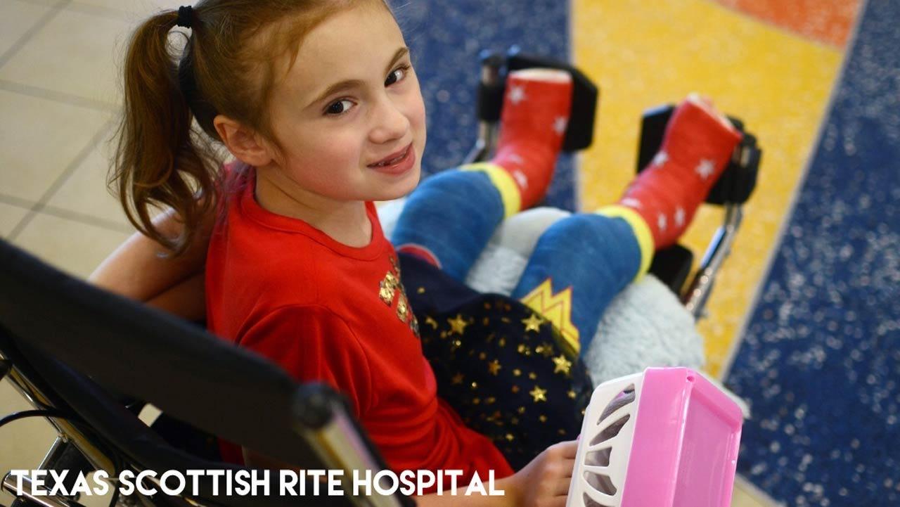 Oklahoma Girl With Rare Bone Disease Designs Super Hero Casts