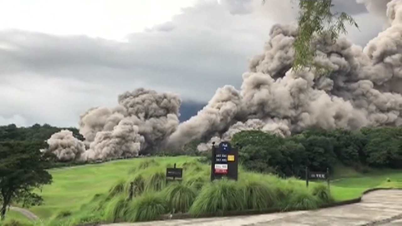Guatemala's Volcano Wipes Out Entire Villages