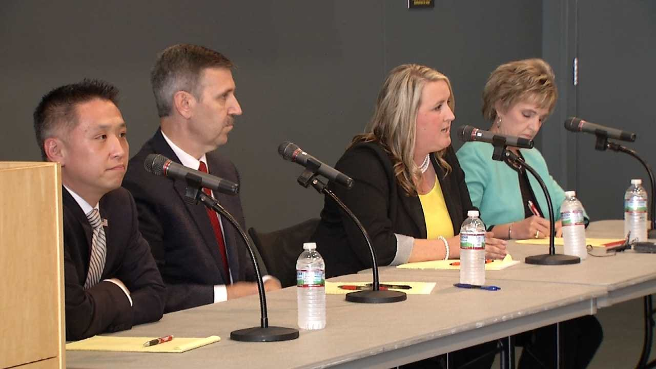 Four Candidates For Tulsa County DA Participate In Forum