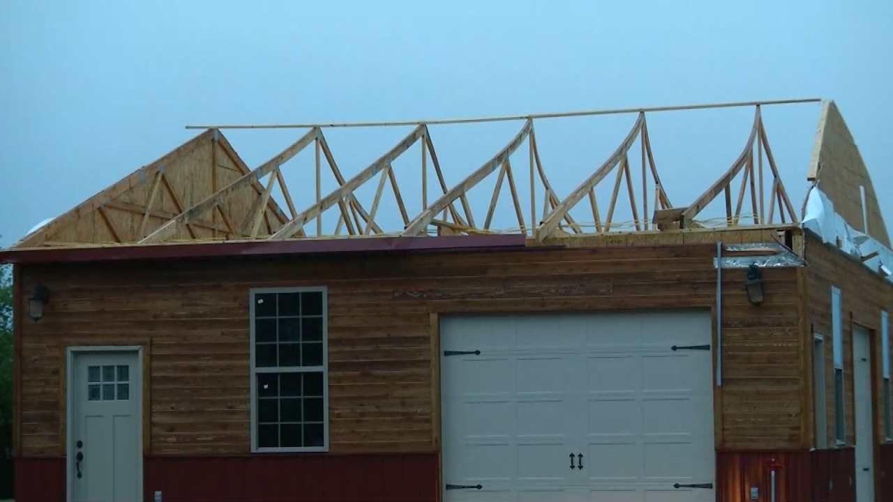 Storms Hit Copan-Area Building - Again