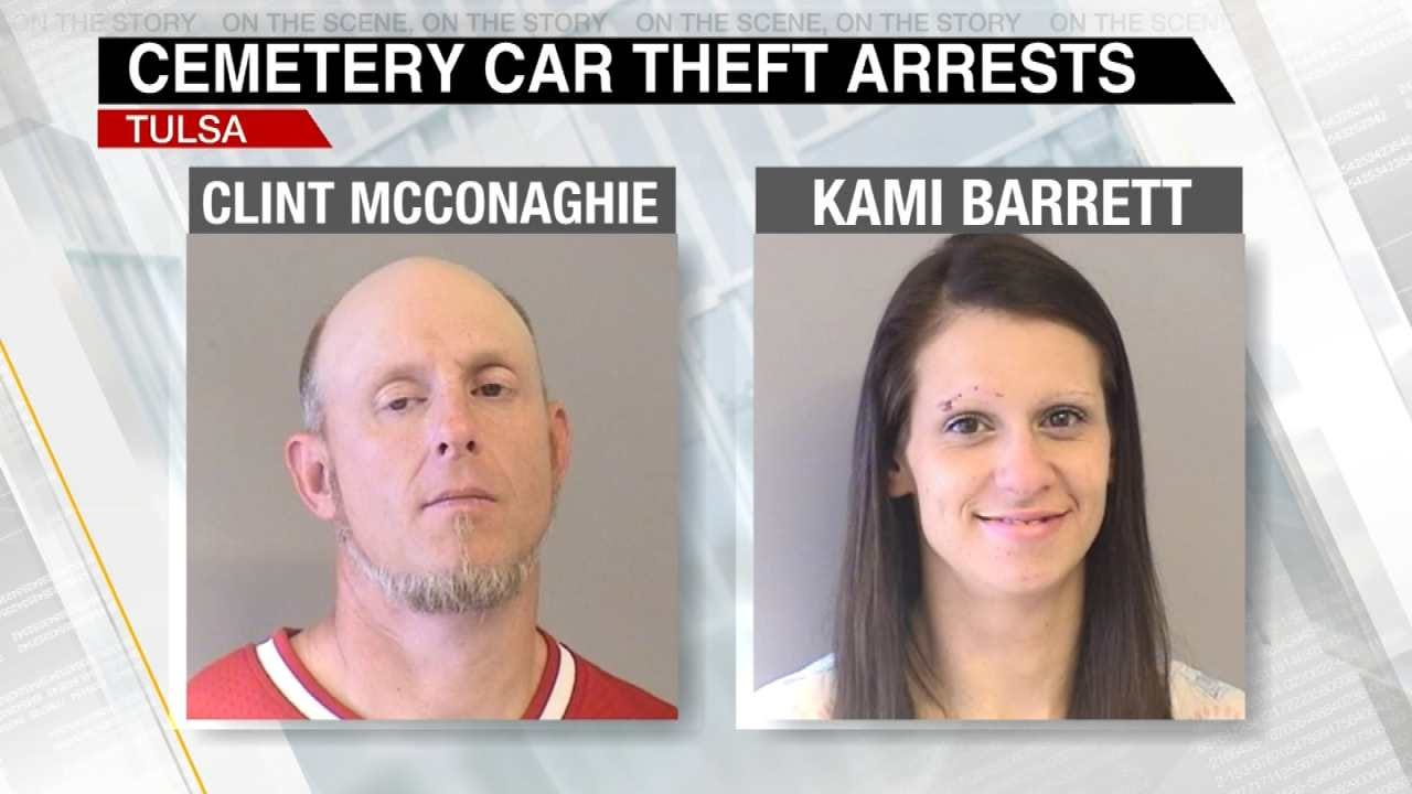 Two Arrested For Stealing Widow's Car From Cemetery On Mother's Day