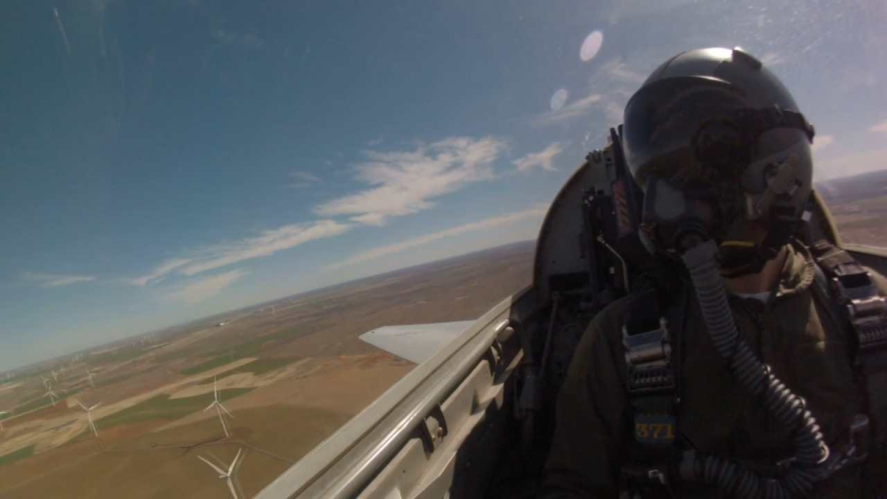 Oklahoma Town Asks Air Force To Help Stop Wind Farm Inside Their City