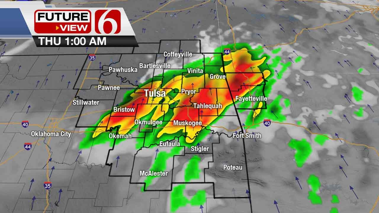 Severe Storms Possible In Northeastern Oklahoma