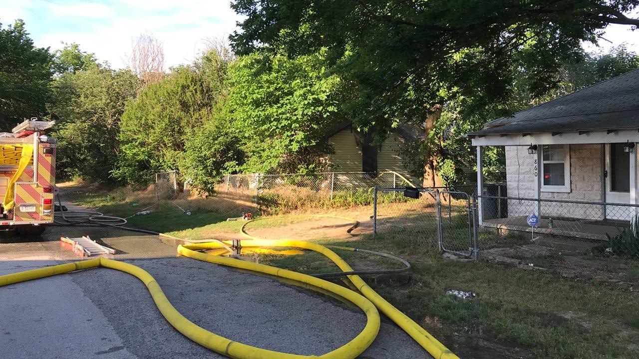 Fire Destroys Vacant House