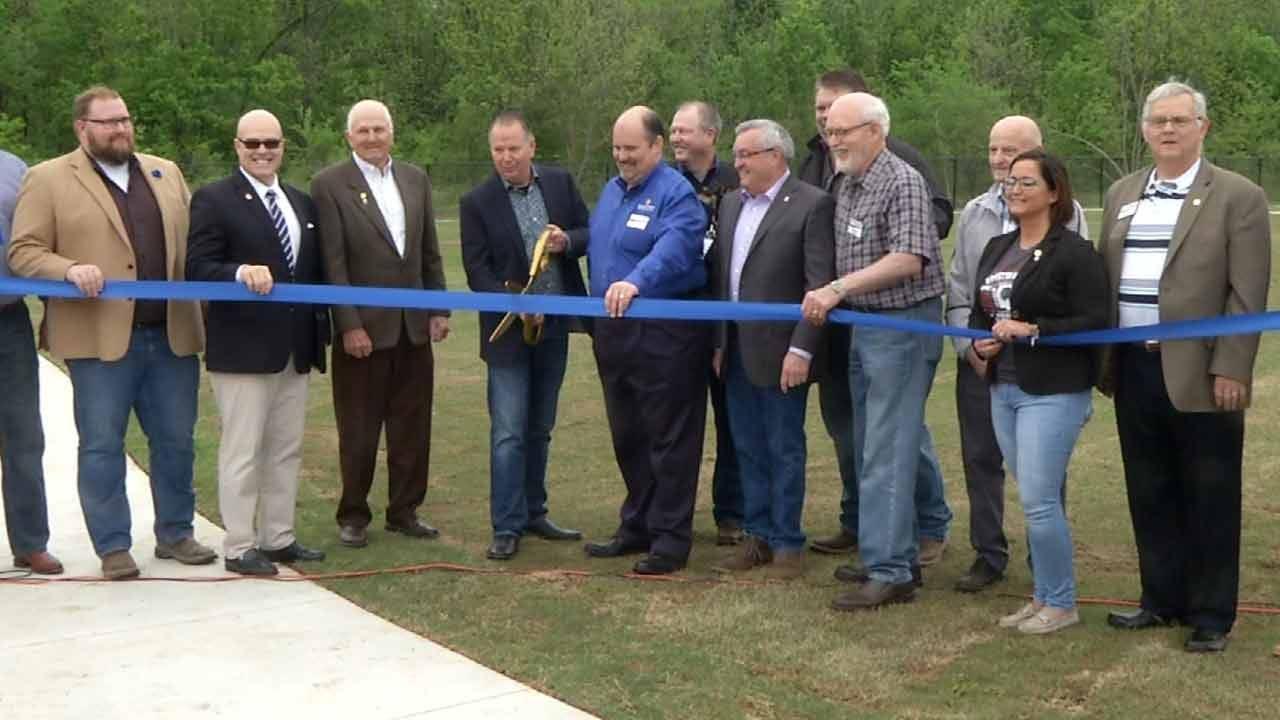 Broken Arrow Opens New Dog Park