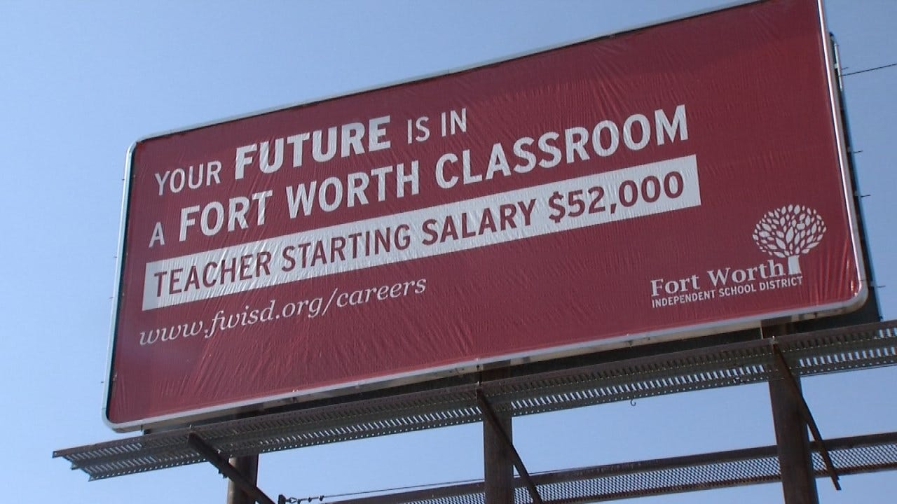 Texas School District Openly Recruiting Oklahoma Teachers