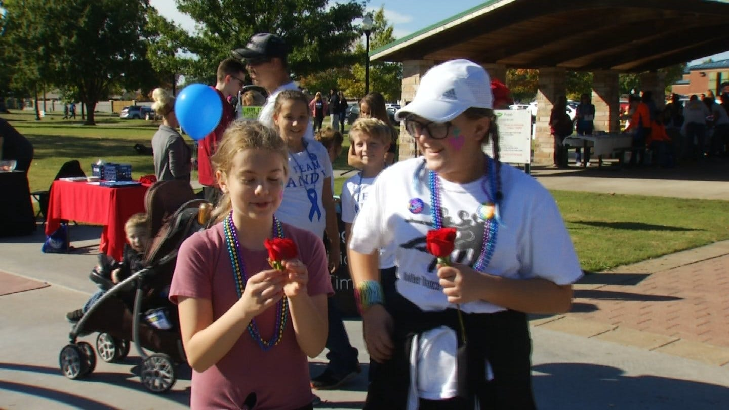 """""""Out Of Darkness"""" Walk Raises Awareness For Suicide Prevention"""