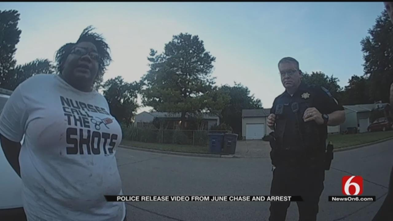 TPD Releases Body Cam Of Chase Suspect