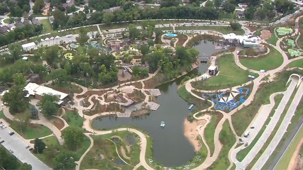 Gathering Place Falls Short Of Guinness World Record Due To Delayed Start