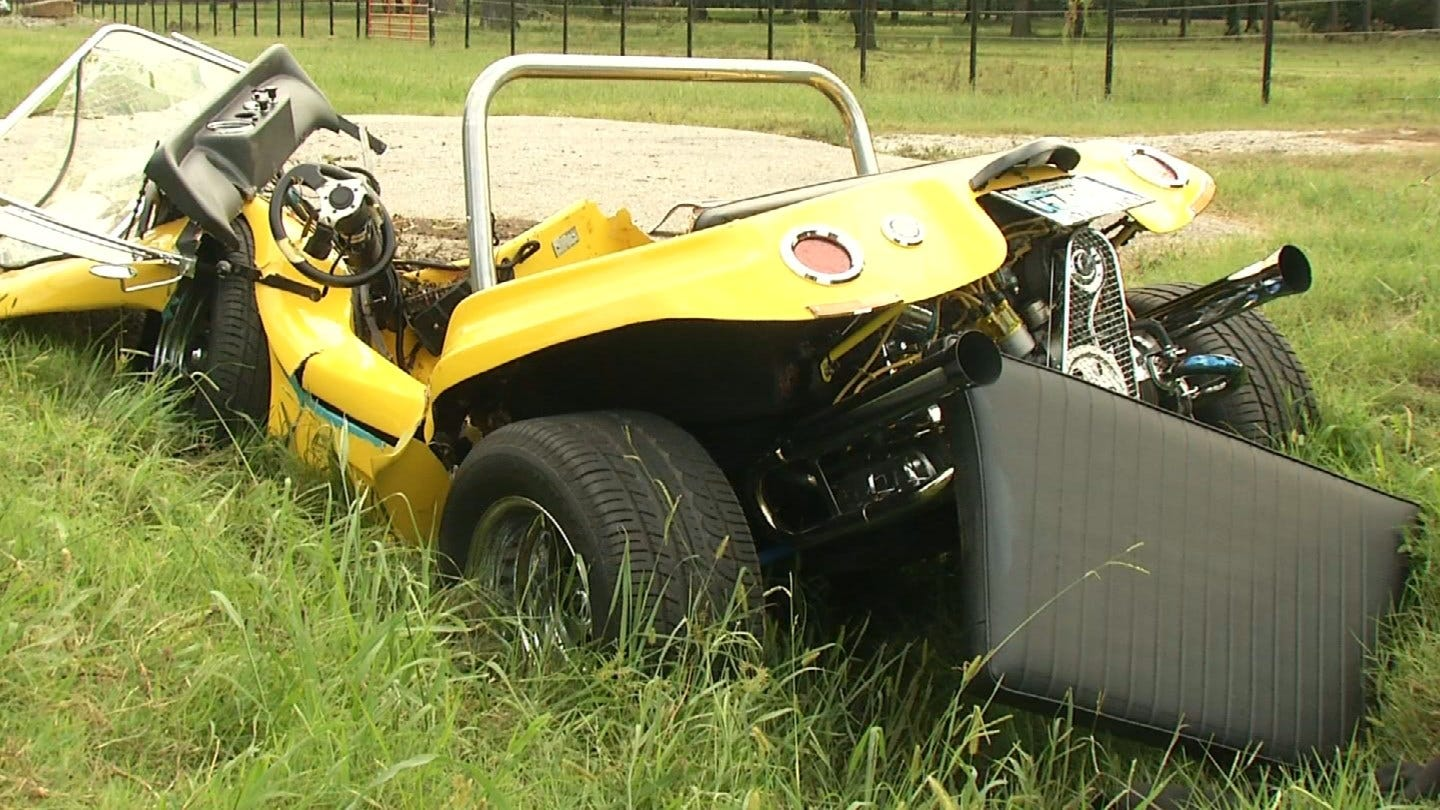 Two Sent To Hospital After Dune-Buggy Crash