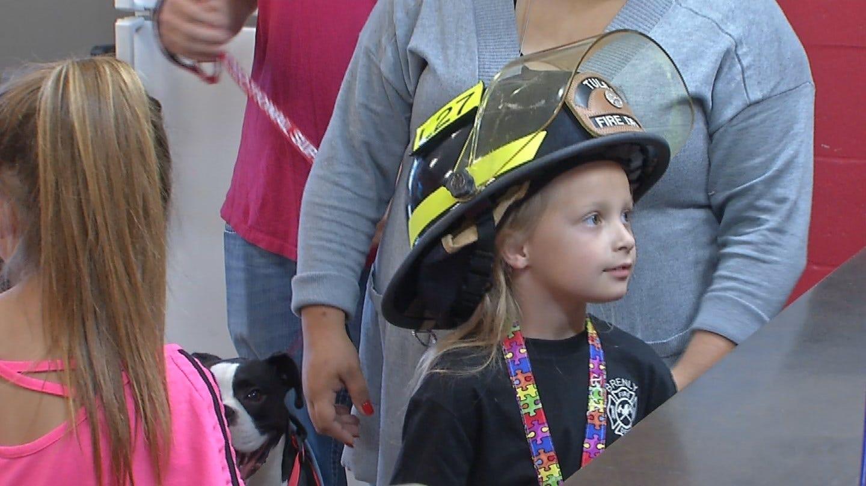 Hulbert Girl Is Tulsa's Newest Firefighter