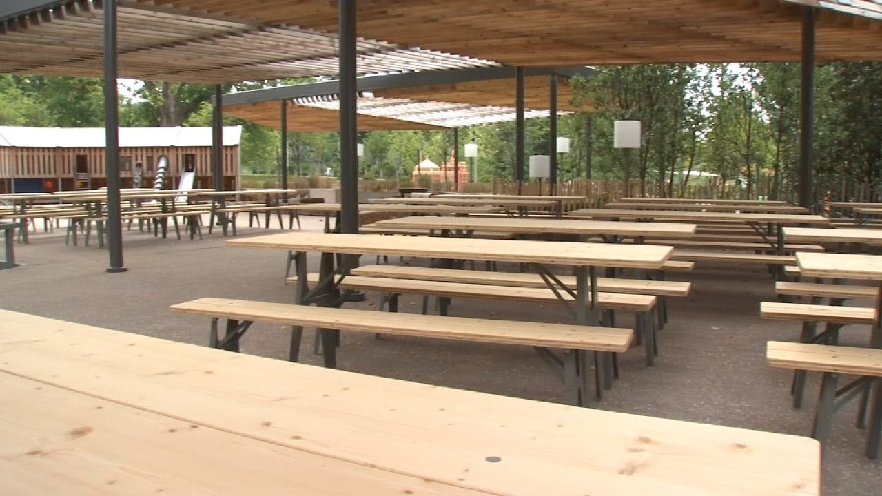 Outside Food & Drink Options At Tulsa's Gathering Place