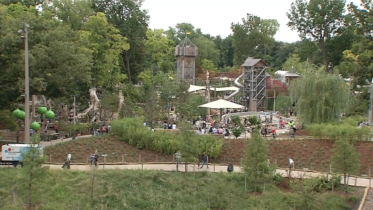 Tulsa's Gathering Place Opening Day Reactions