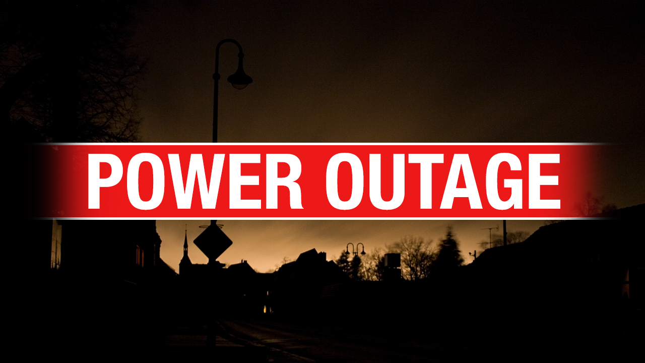 Monday Power Outage Planned For Hominy