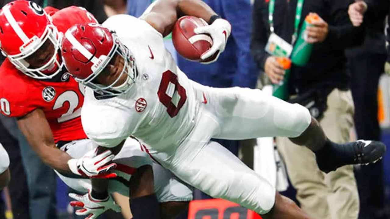 Josh Jacobs Goes To Oakland Raiders In First Round Of NFL Draft
