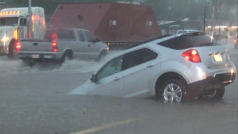 Nowata Suffers Deep Flash Flooding