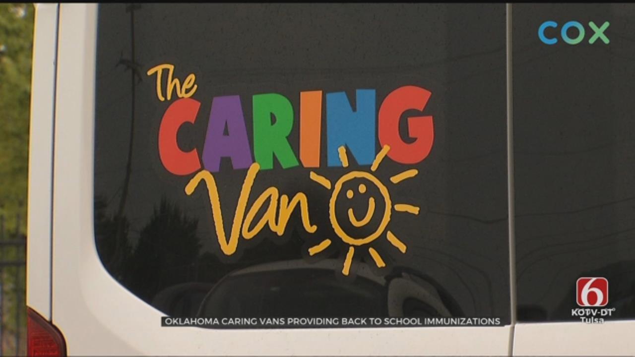 Oklahoma Caring Van Providing Free Immunizations For Kids In Need