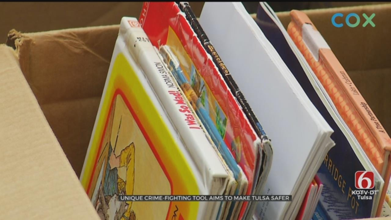 'Little Libraries': Unique Crime Fighting Tool Aims To Make Tulsa Safer