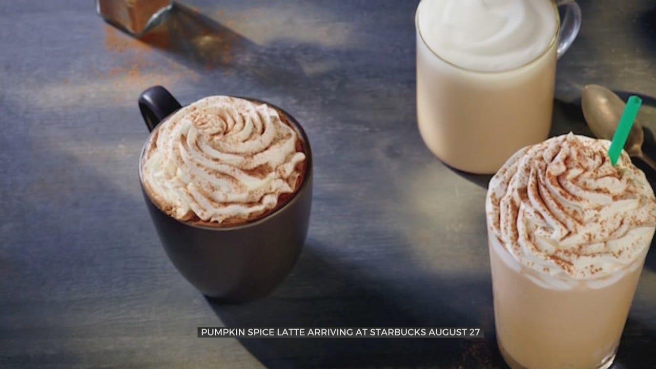 The Pumpkin Spice Latte Returns To Starbucks' Menus Earlier Than Ever This Year