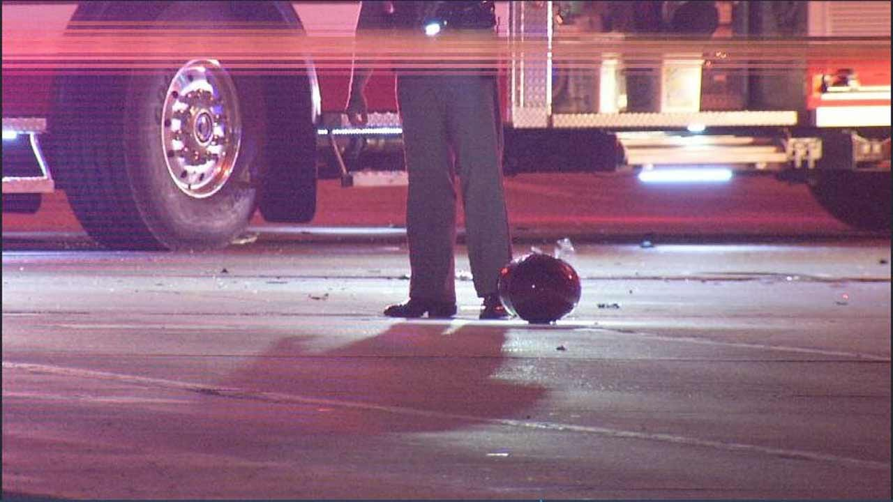 Police Searching For Driver After Fatal Accident Involving Motorcycle