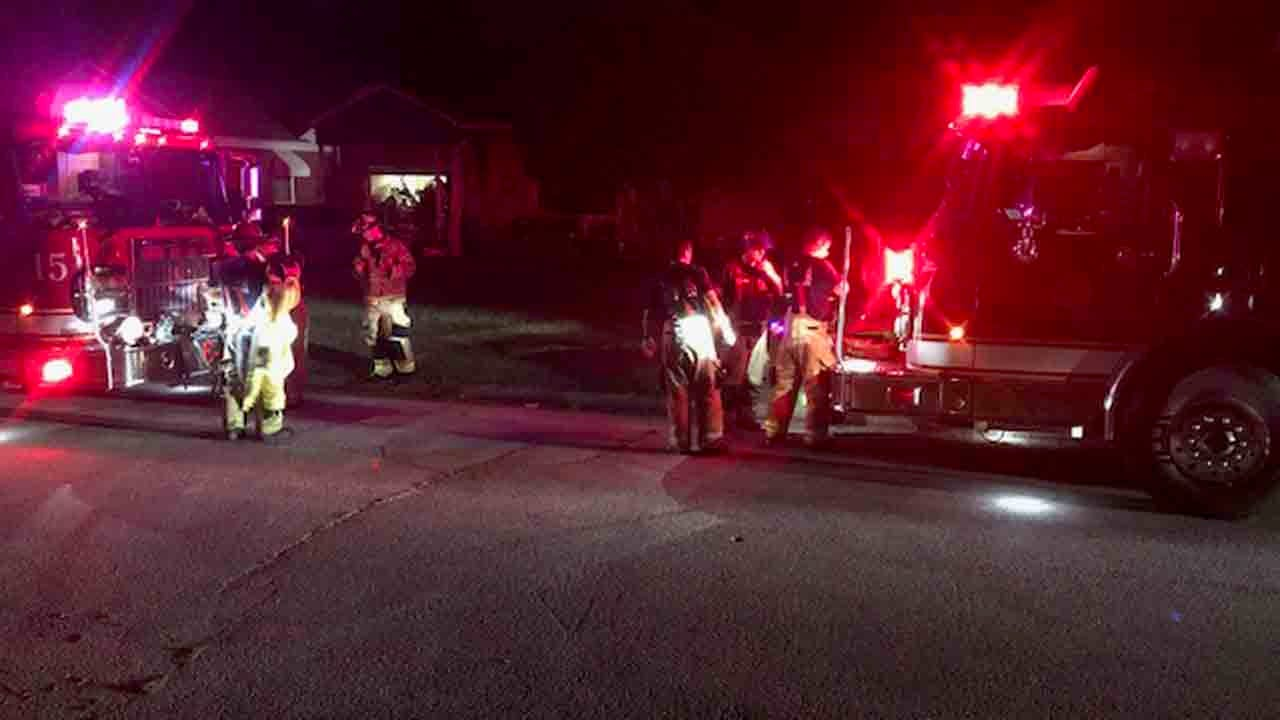 Man Recovering After Tulsa House Fire