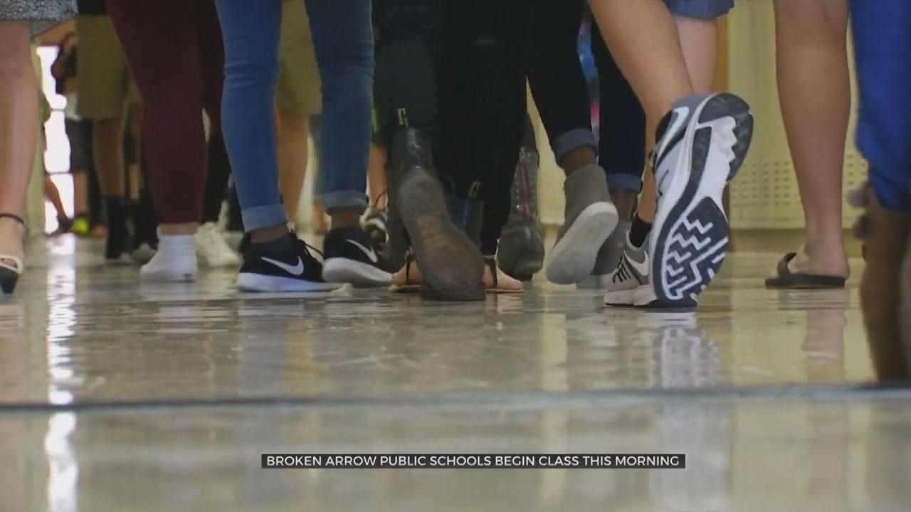 Back To School: Broken Arrow Students Start The New School Year