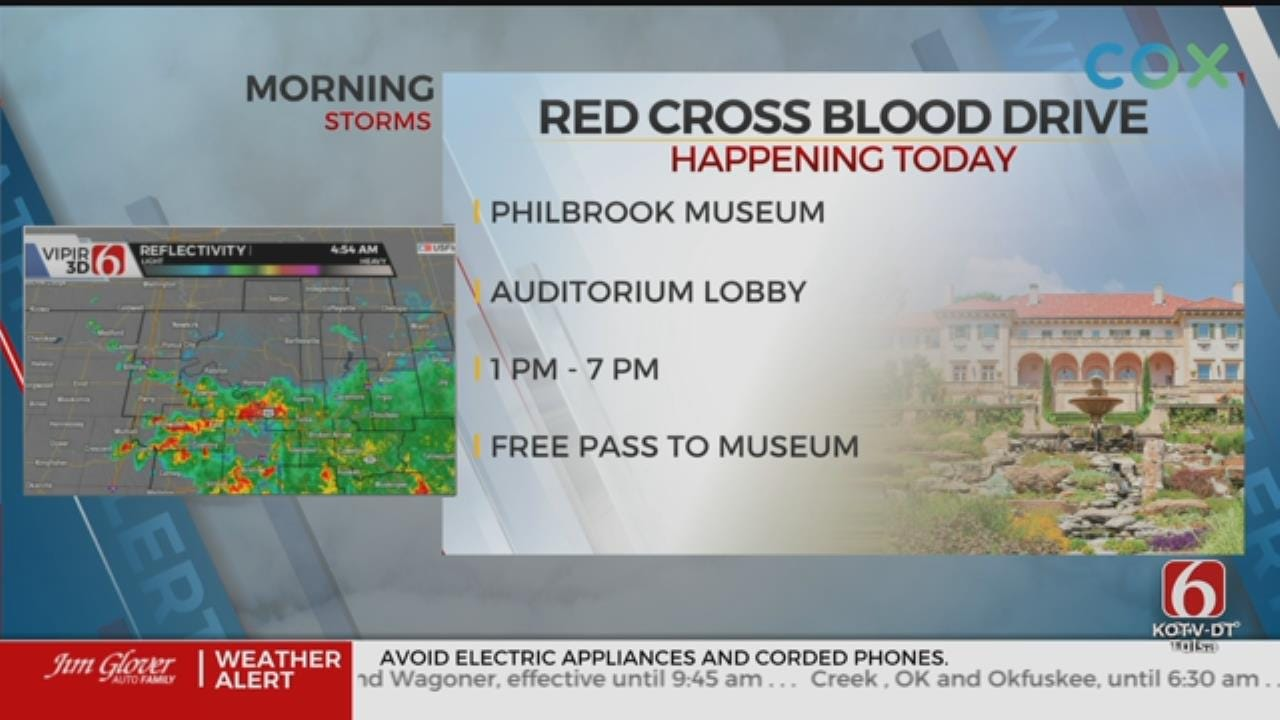 The Philbrook Museum, Red Cross Team Up For Blood Drive